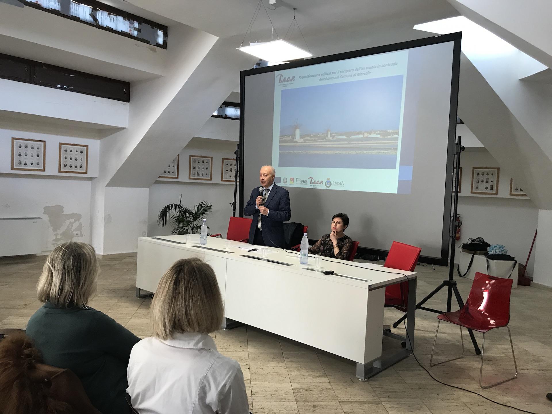 Conferenza stampa di presentazione del progetto Social Housing Amabilina