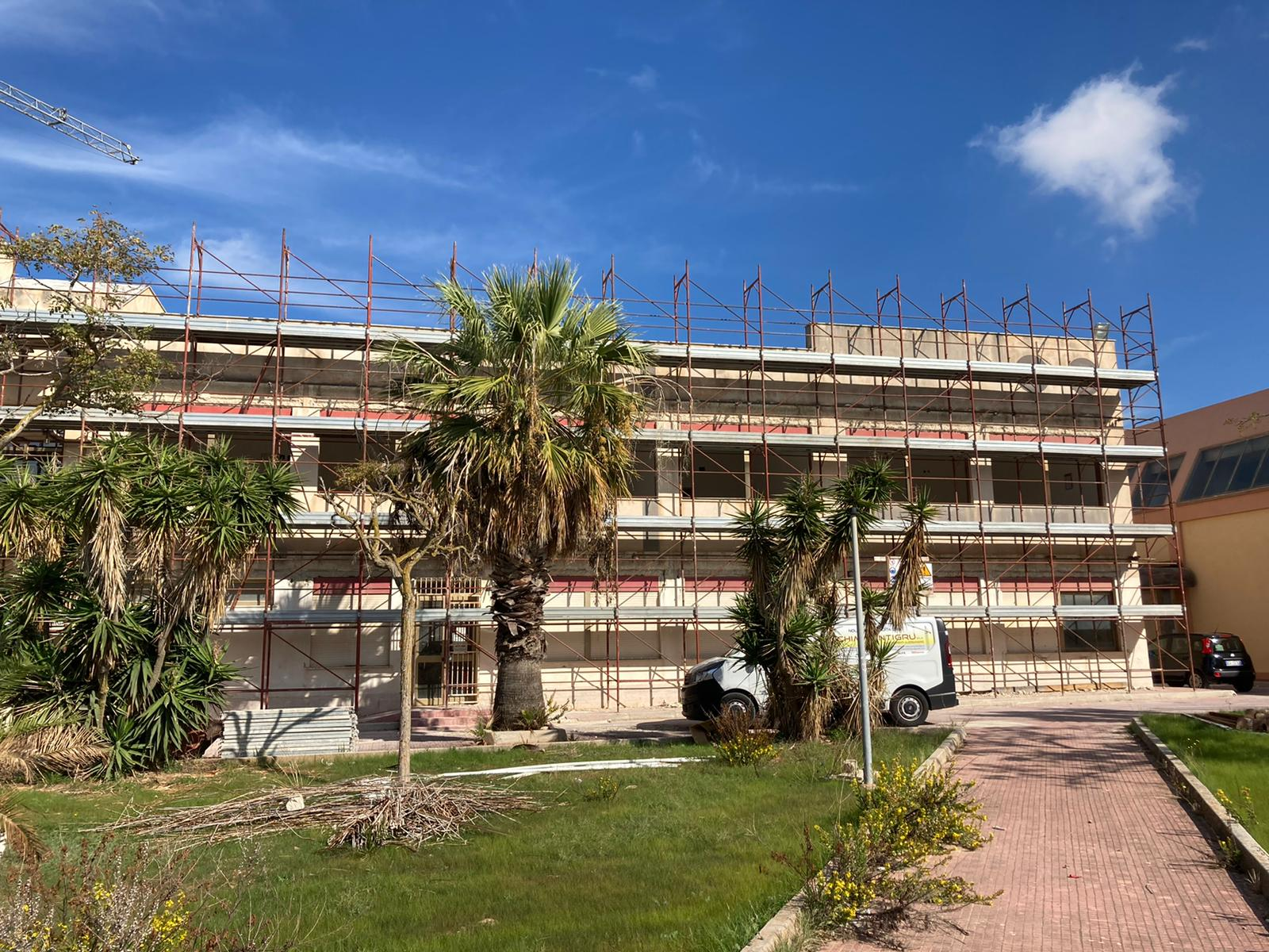 Lavori in corso in contrada Amabilina, un quartiere che rinasce con i fondi europei